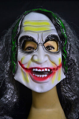 Gruselige Horrormaske Fasching Halloween Karneval Party Kostüm - - Gruselige Kostüm