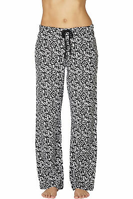 Intimo Womens Print Knit Pajama Pant