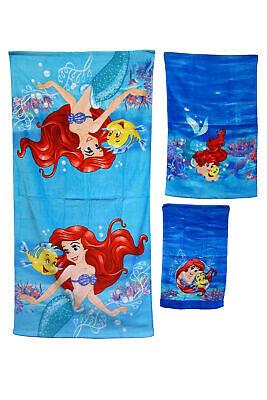 Disney Ariel Little Mermaid Children's Bath Towel Set