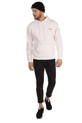 RRP €125 MUF10 Hoodie Size XL Glued Logo Kangaroo Pocket Long Sleeve