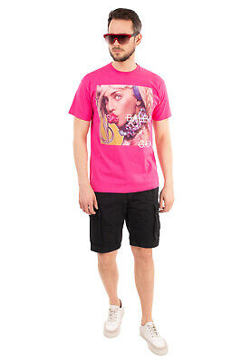 RRP €105 SOLD OUT FRVR T-Shirt Top Size M Coated Front Short Sleeve Crew Neck