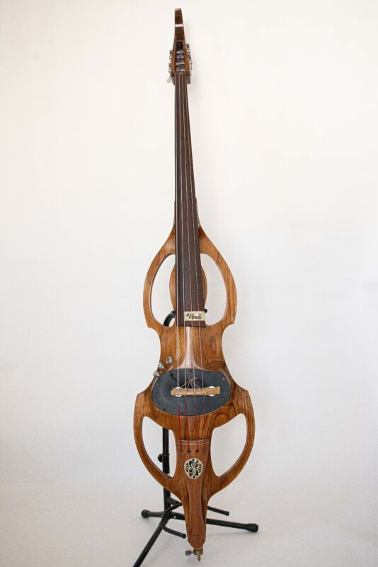 Electric Upright Bass Solid Maple -