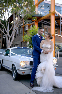 Wedding Cars- Exclusive White Mustangs Sydney City Inner Sydney Preview
