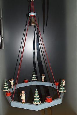 Alter Erzgebirge Hänge Adventsleuchter*Weihnachtskranz*Adventskranz*Leuchter