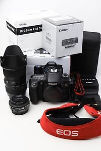 Canon 70D and lenses for Sale - like new (NO TRADES)