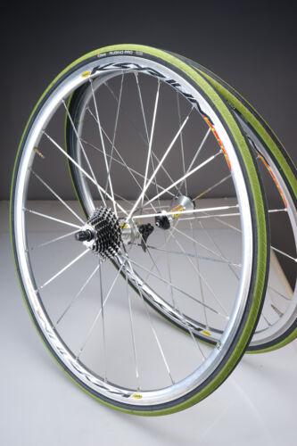 Mavic Ksyrium Elite 700C Wheelset w/ Ultegra CS-6600 10-Speed Cassette 8/9/10