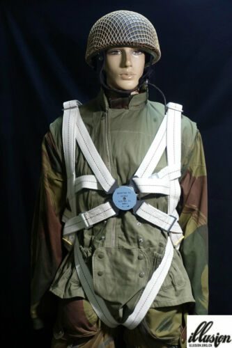WWII British X Type Parachute Harness (Reproduction)