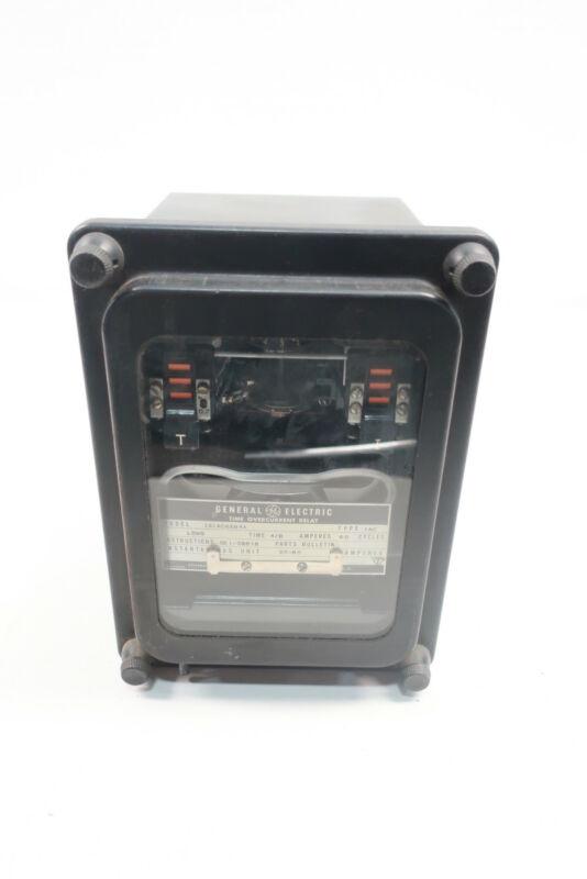 General Electric Ge 12IAC66B4A Time Overcurrent Relay