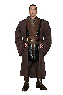 Star Wars Anakin Skywalker Kostüm Robe in braun - Film Satz Qualität aus UK