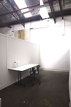 Large desk spaces available in shared studio. St Peters Marrickville Area Preview