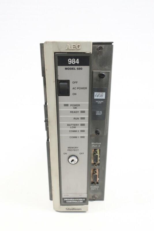 Aeg Modicon PC-0984-680 Programmable Controller Module