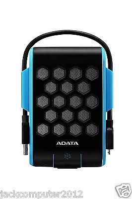 Brand New Adata DashDrive HD720 Waterproof USB 3.0 External Hard Drive 1TB BLUE