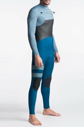 NEW $250 Mens Hurley Advantage Plus Wetsuit 3/2MM FullSuit Blue Force LT XS S ST