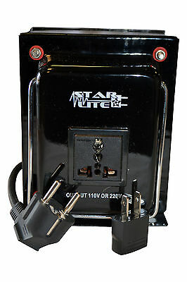 2000 Watt Heavy Duty Voltage Converter Transformer Step Up/Down 2000 Watt