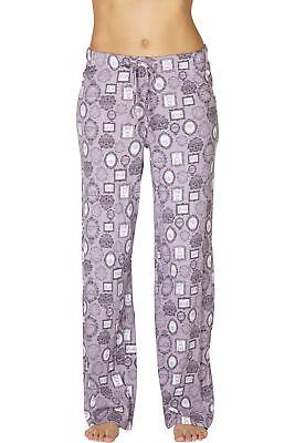 INTIMO Womens Comfy Printed Frames Cotton Sleep Pant