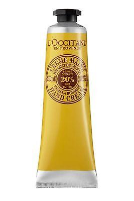 L Occitane L'Occitane Hand Cream made with Shea Butter 30ml Vanilla Bouquet
