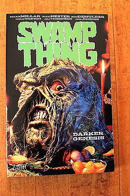 "SWAMP THING: VOLUME 2 TPB ""DARKER GENESIS"" MARK MILLAR DC/VERTIGO COMICS NM"