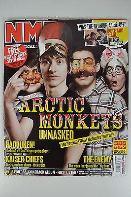 ARCTIC MONKEYS NME MAGAZINE 28th ARIL 2007 UNREAD FAVOURITE WORST NIGHTMARE INT