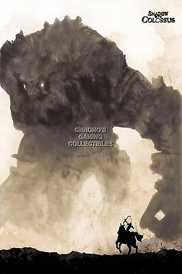 RGC Huge Poster - Shadow of the Colossus PS2 PS3 - SOC011