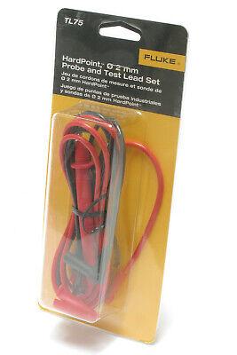 Fluke Tl75 Hardpoint Multimeter Test Lead Set 48 Long