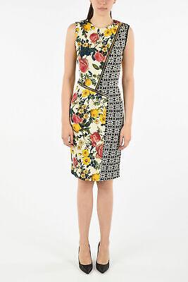 FAUSTO PUGLISI women Dresses 40 IT Multicolor Pencil Printed Sleeveless Dress...