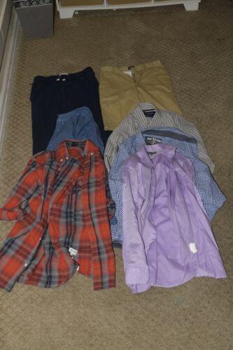 Lot Of Boy's Clothes Size S - L Abercrombie Gap Dkny Epic
