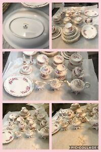 Various dinner sets, coffee tables, dining table cabinet