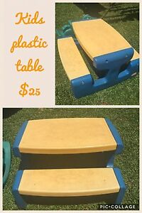 Kids plastic outdoor table Redlynch Cairns City Preview