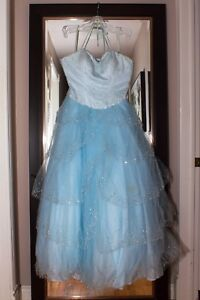 Blue prom dress for sale