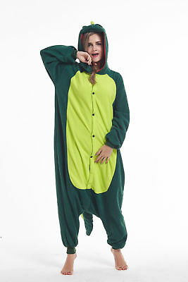 Unisex Adult Pajamas Halloween Dinosaur Onesie0 Animal Kigurumi Cosplay Costumes