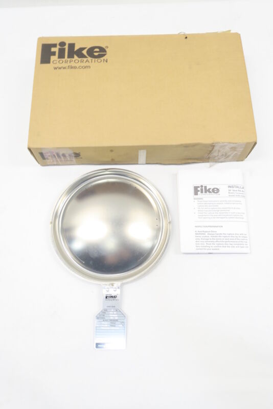 Fike HOV BT Stainless 6in Rupture Disc 47.1psi @ 72f