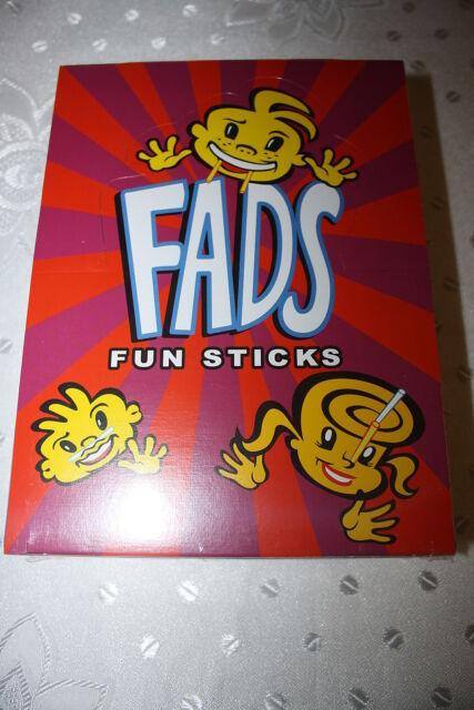FADS Fun Sticks 48 x 15g Packs Box