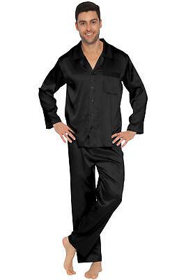INTIMO Mens Classic Stretch Silk Pajamas
