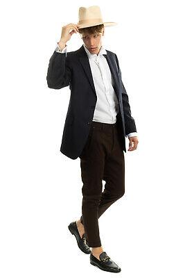 RRP €995 LARDINI Wool Blazer Jacket Size 50 L Striped Notch Lapel Made in Italy