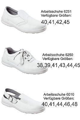 Schuhe Sicherheitsschuhe S2 Küchen Arztschuhe Sicherheitsclogs weiß Damen Herren