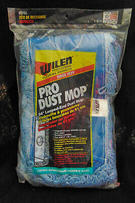 Wilen Loop End Yarn Dust Mop Refill Washable 24x5 Inches New Sealed