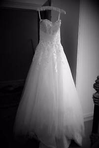 White Lace Wedding Dress Bridal Gown Custom Magill Campbelltown Area Preview