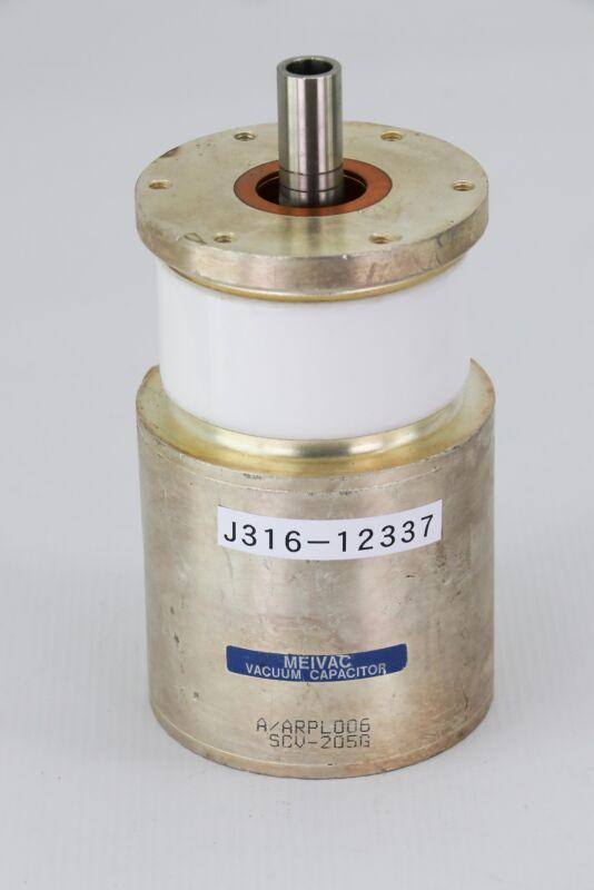 12337 MEIVAC VARIABLE VACUUM CAPACITOR 50-500PF SCV-205G