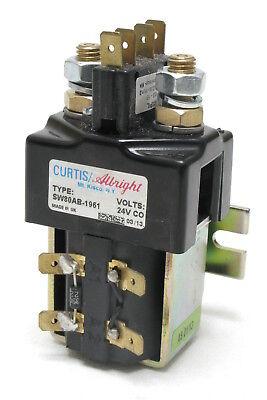 Curtisalbright Sw80ab-1961 100 Amp 24vdc Spst N.o. Relay