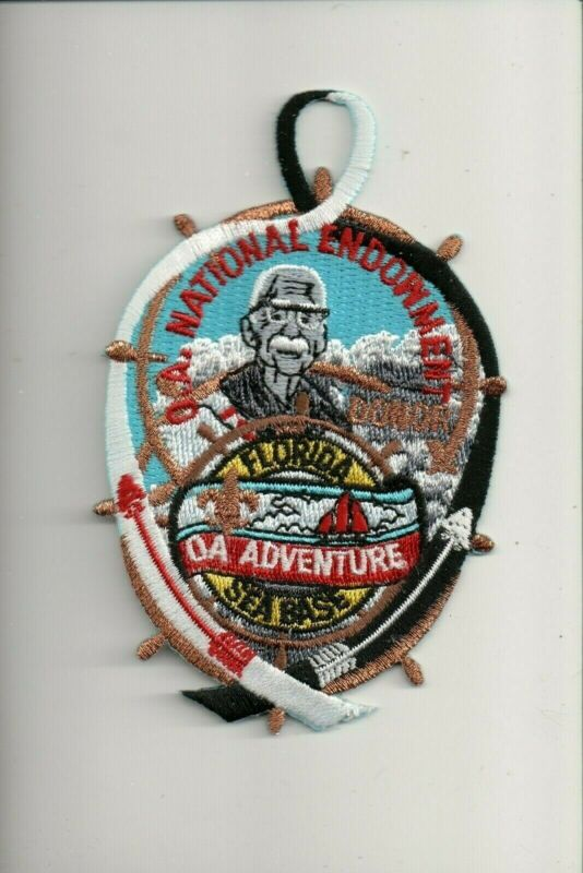 O.A. Nationa Endowment OA Advenrure Florida Sea Base OA patch