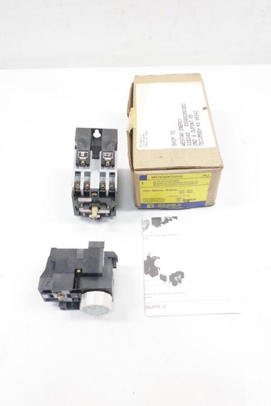 Square D 8501XO20XTD2V02 Timing Control Relay 5-180sec 110/120v-ac