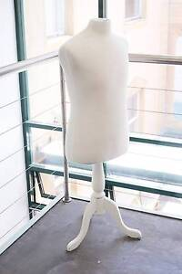 Dressmakers Mannequin - White with Base Chippendale Inner Sydney Preview