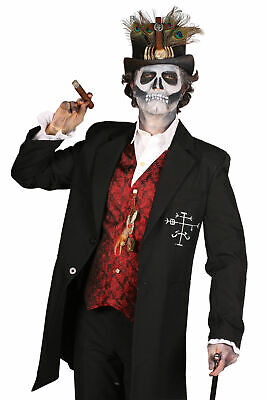 Halloween Kostüm Herren Vodoo Geist Zombie Gothic Gr.XXL Karneval Fasching