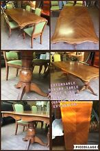 Extendable dining table plus 6 chairs Caringbah Sutherland Area Preview