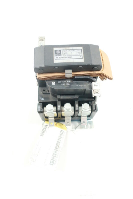 General Electric Ge CR353GK3AA1 Ac Contactor 115-120v-ac 150a