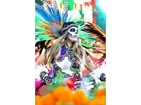 1184.Movie Poster.Mexican Day of Death.Mexico.Room Decor.Interior Home design