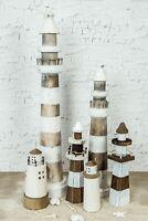 Leuchtturm Holz Maritim Dekoration Deko verschiedene Größen Neu % Niedersachsen - Ottersberg Vorschau