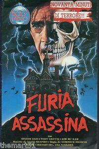 Furia assassina (1987) VHS Roxy Video 1a Ed. - Steven Baio Tony Griffin - Italia - L'oggetto può essere restituito - Italia