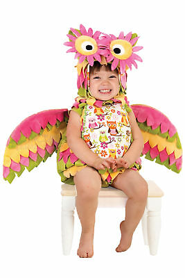 Hootie the Owl Toddler Child Costume Bird Safari Animal Hood Wings Halloween