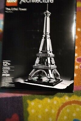 LEGO Architecture The Eiffel Tower (21019). NISB. Mint. Free+Fast Shipping.